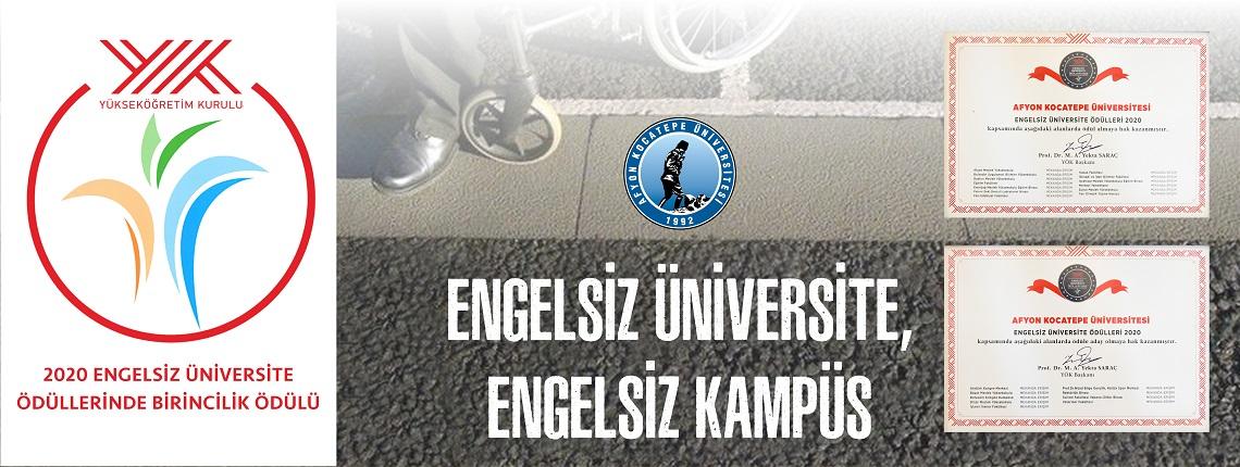 AKÜ, Engelsiz Üniversite Ödüllerinde Türkiye Birincisi Oldu