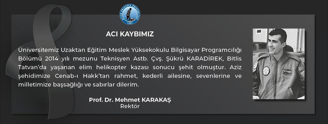 Bitlis Tatvanda Şehit Haberi Öğrencimiz